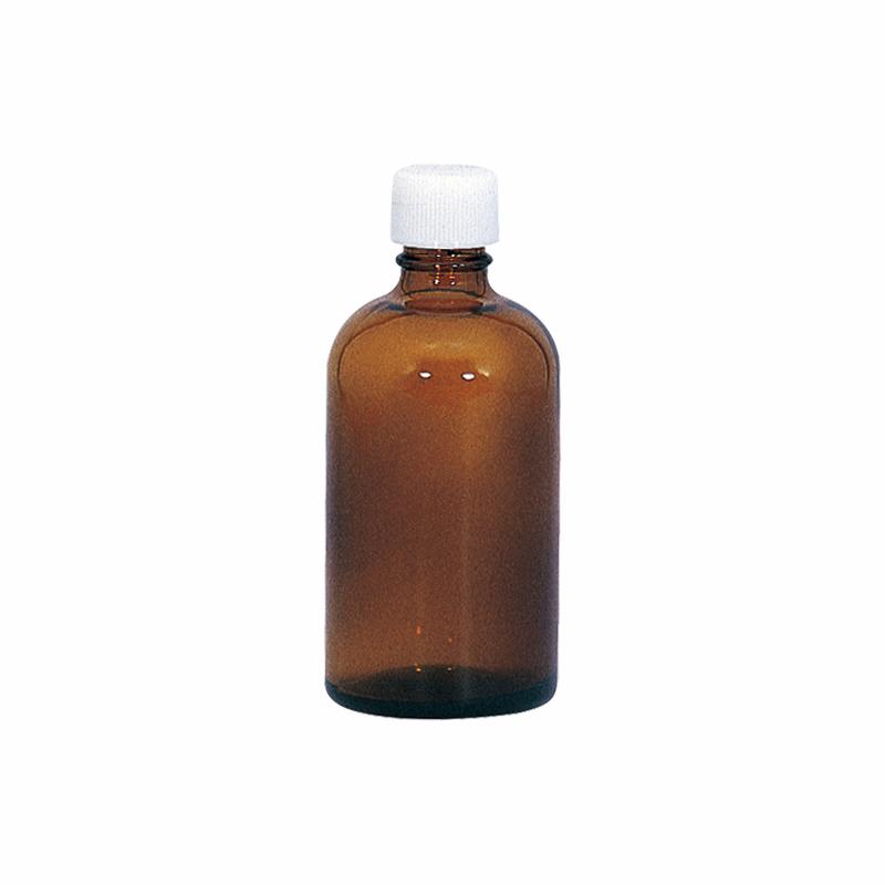 遮光瓶 アンバー(茶色) ノーマル 30ml [5本セット] 【ガラス ドロッパー